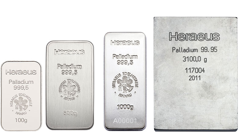 Save on palladium bars